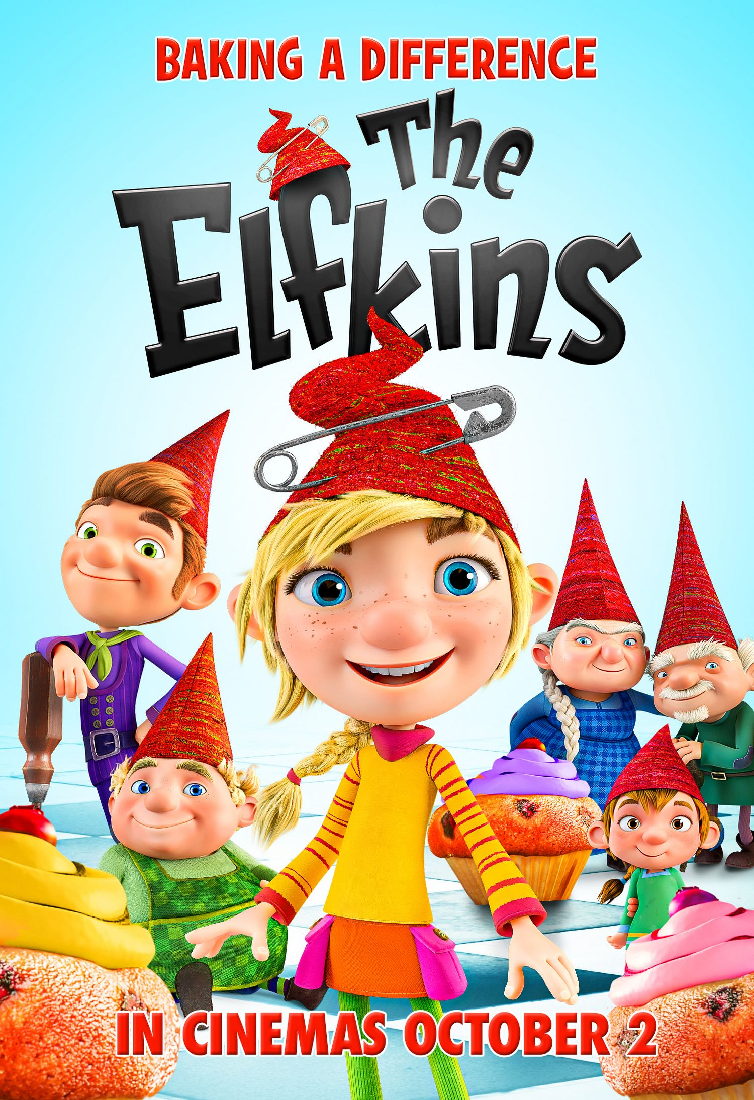 The Elfkins (Signature Entertainment, 2nd October) Theatrical Poster