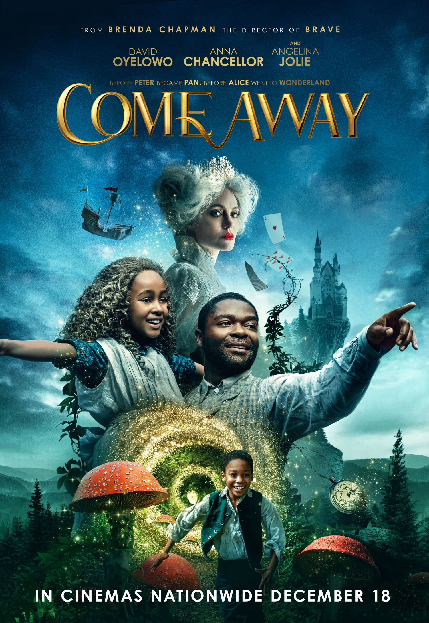 COME AWAY ONE SHEET