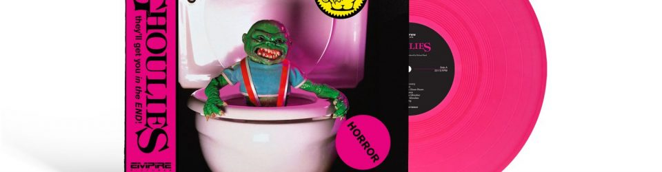 WRWTFWW Records presents Ghoulies, Troll and TerrorVision limited edition soundtracks on coloured vinyl