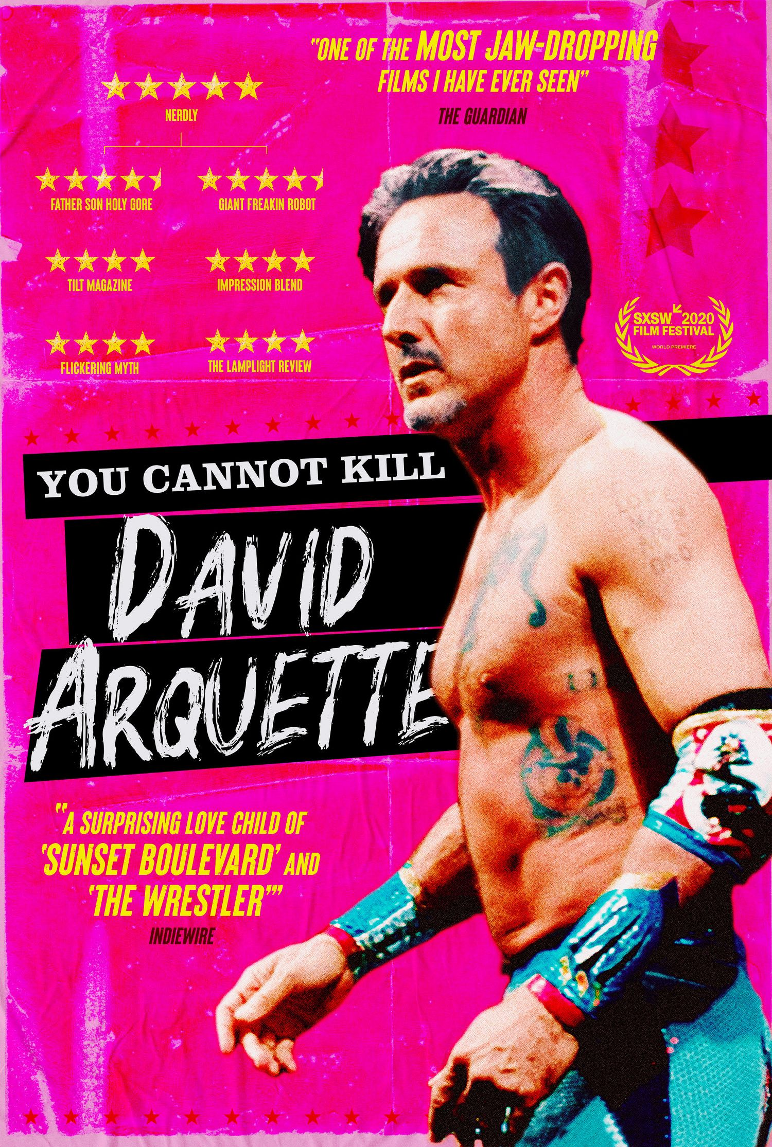 You Cannot Kill David Arquette – UK Poster
