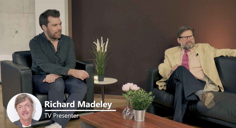Simon, Rupert and Richard Madeley