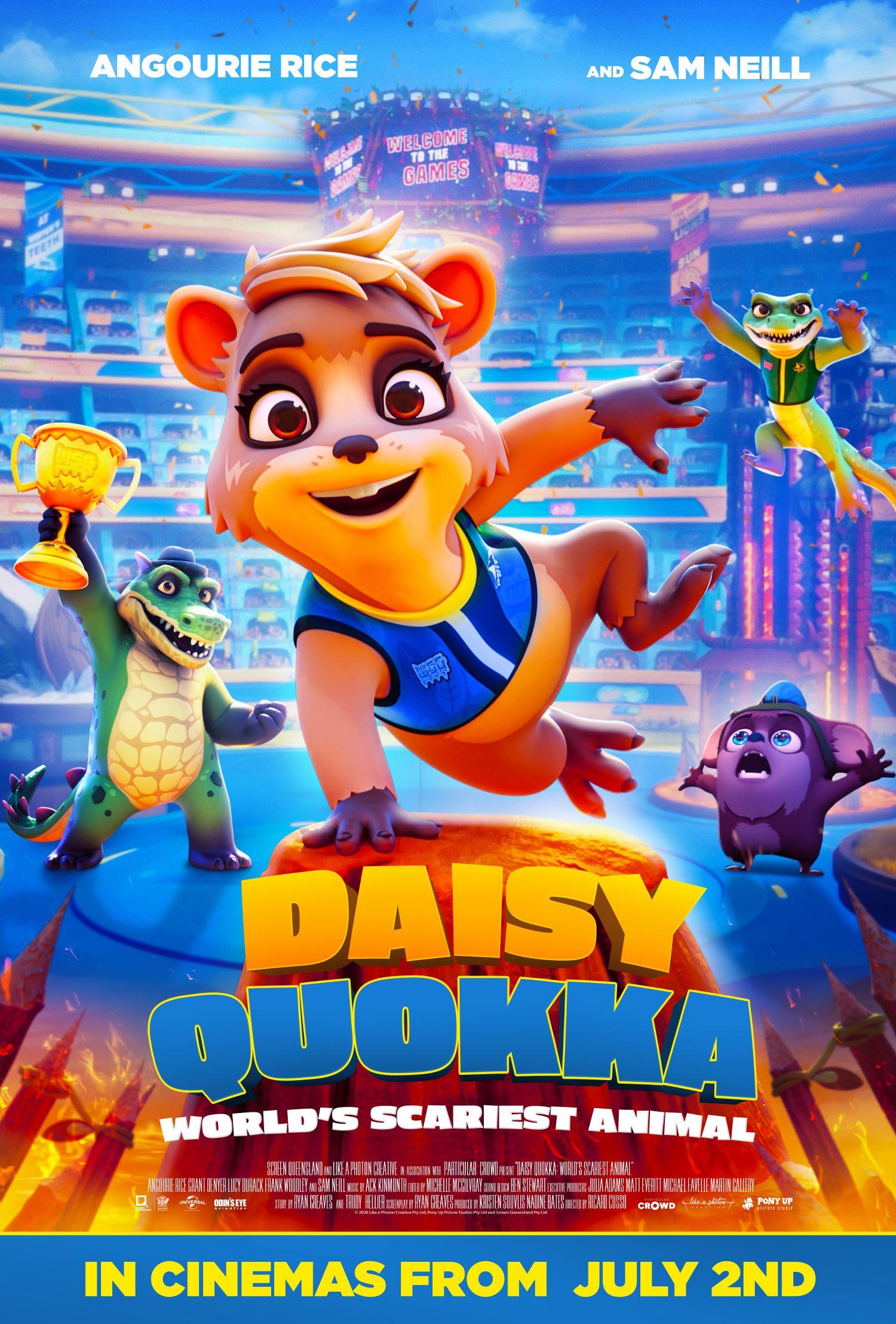 Daisy Quokka (Signature Entertainment) Cinema Poster