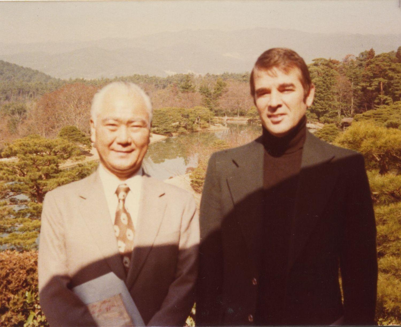 Laddie & Japanese Man Japan 1978