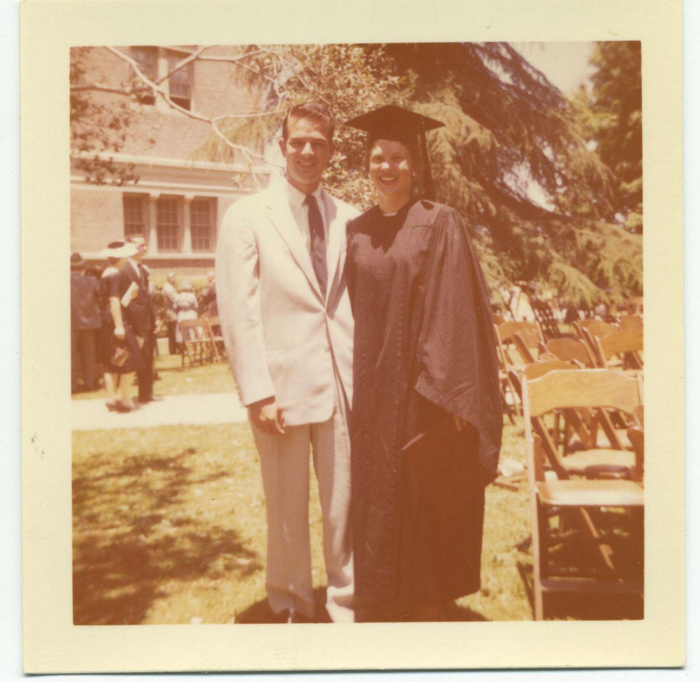 USC1958GraduationPatty&Laddie (1)