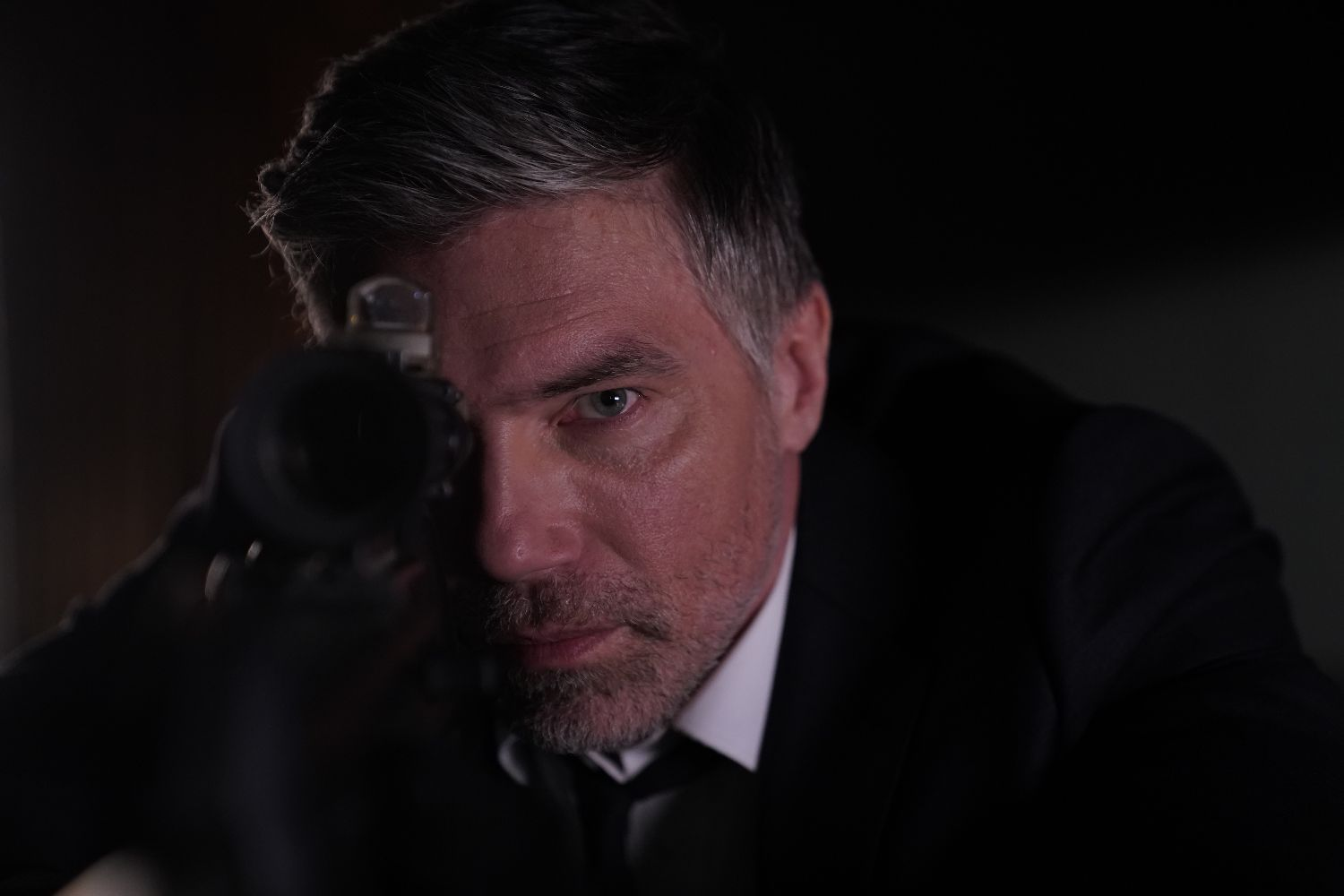 Anson Mount in The Virtuoso (Lionsgate UK)