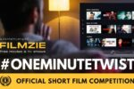FILMZIE launches short film competition #OneMinuteTwist with Raindance