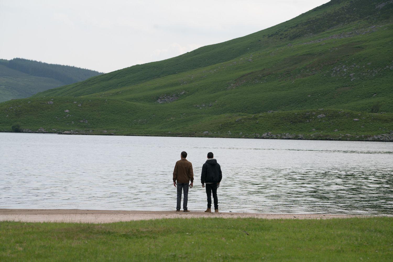 John Hawkes and Logan Lerman in End of Sentence (Blue Finch Film Releasing) (2)