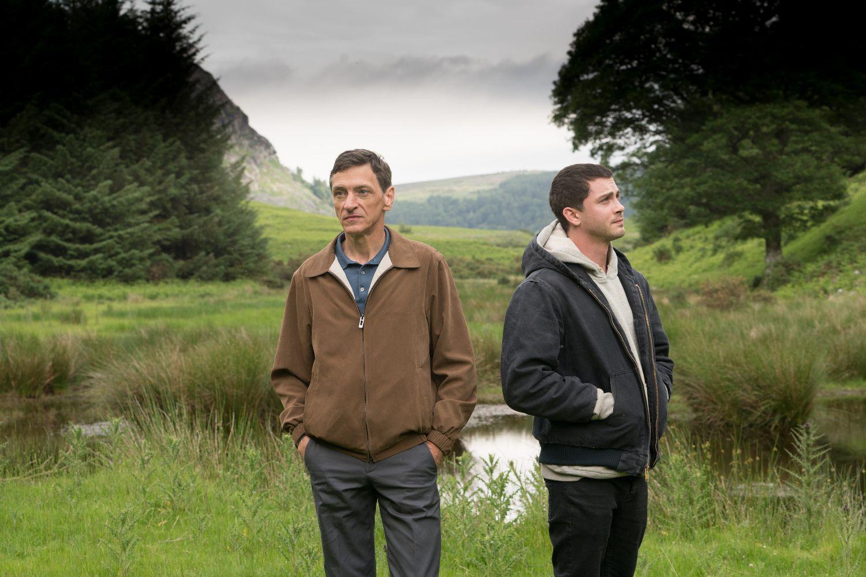 John Hawkes and Logan Lerman in End of Sentence (Blue Finch Film Releasing)
