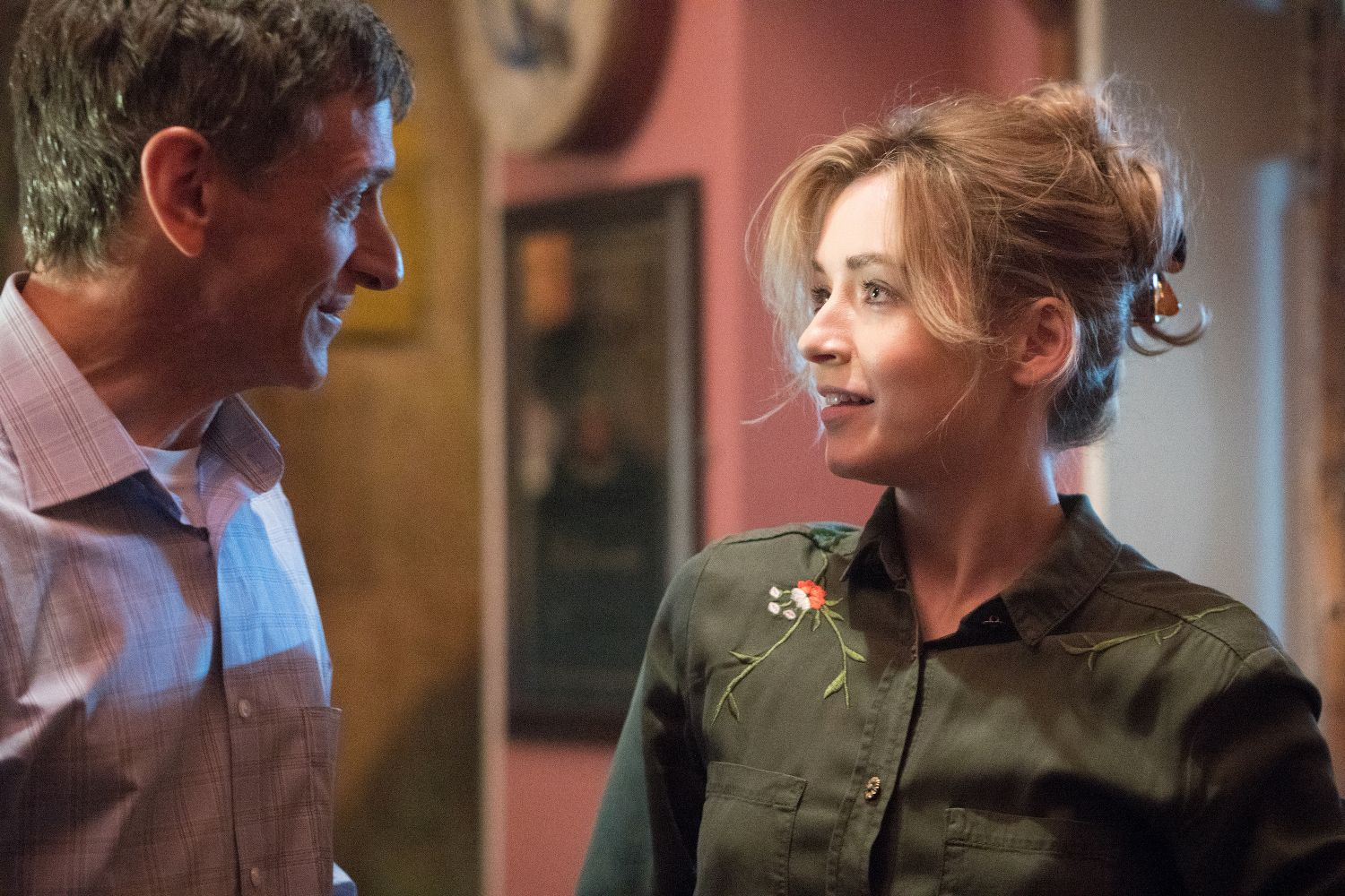 John Hawkes and Sarah Bolger in End of Sentence (Blue Finch Film Releasing)