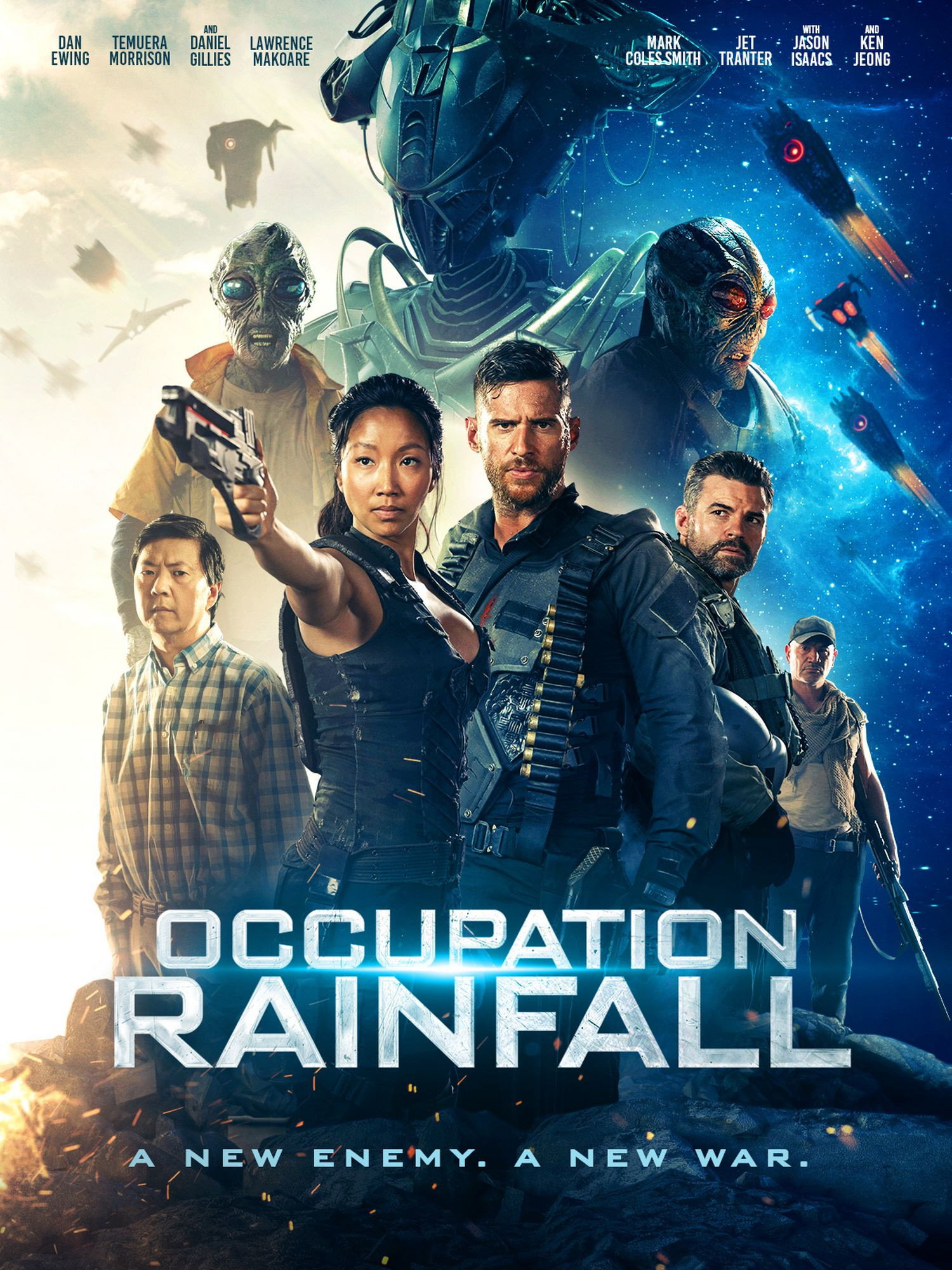 Occupation Rainfall (Signature Entertainment) Digital Poster