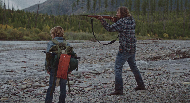 Sasha Knight and Steve Zahn in Cowboys (Blue Finch Film Releasing)