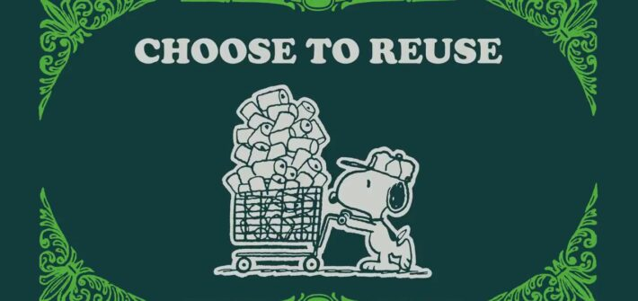 Take Care with Peanuts – Snoopy & Charlie Brown Choose to Reuse