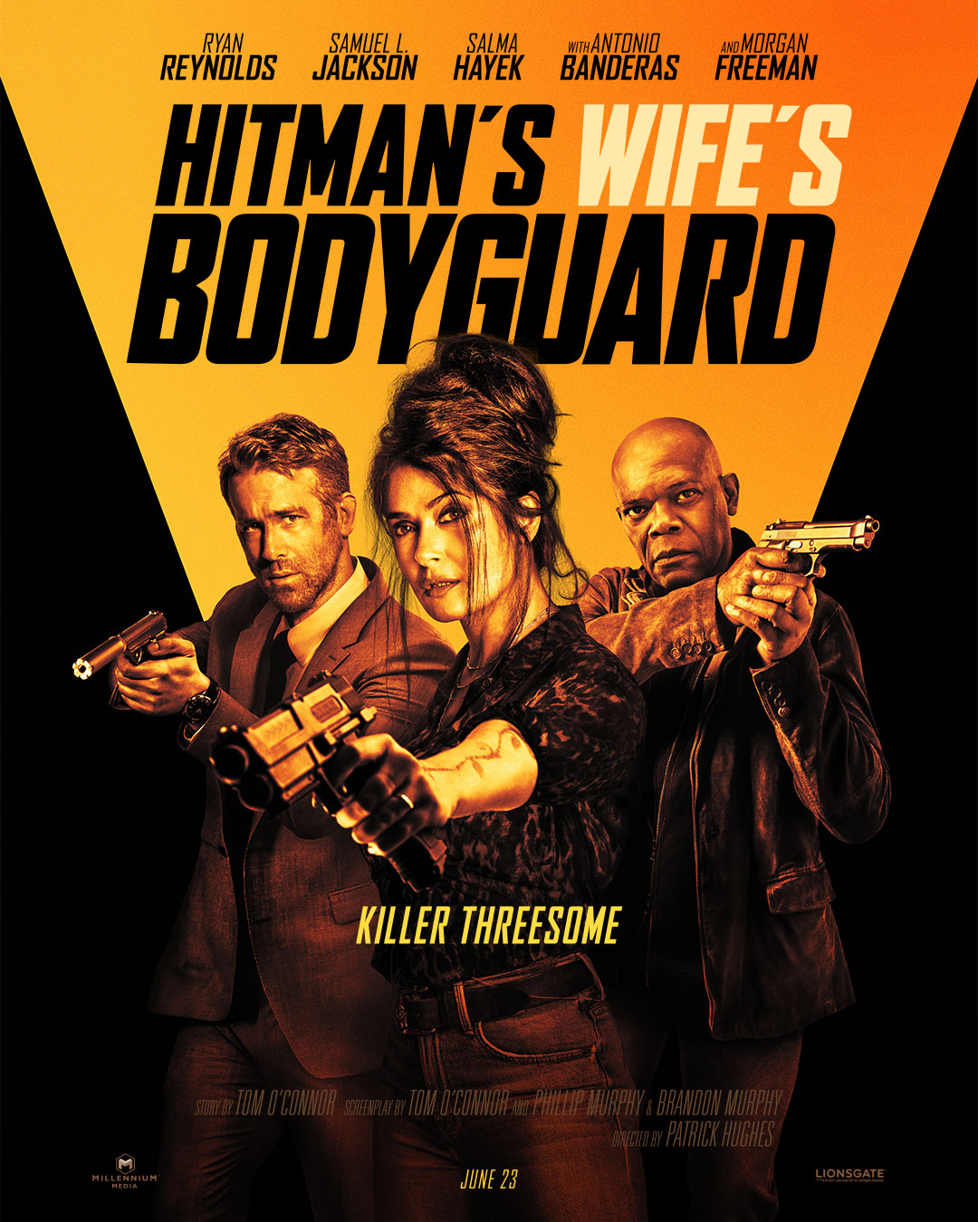 The Hitman's Wife's Bodyguard – Teaser poster