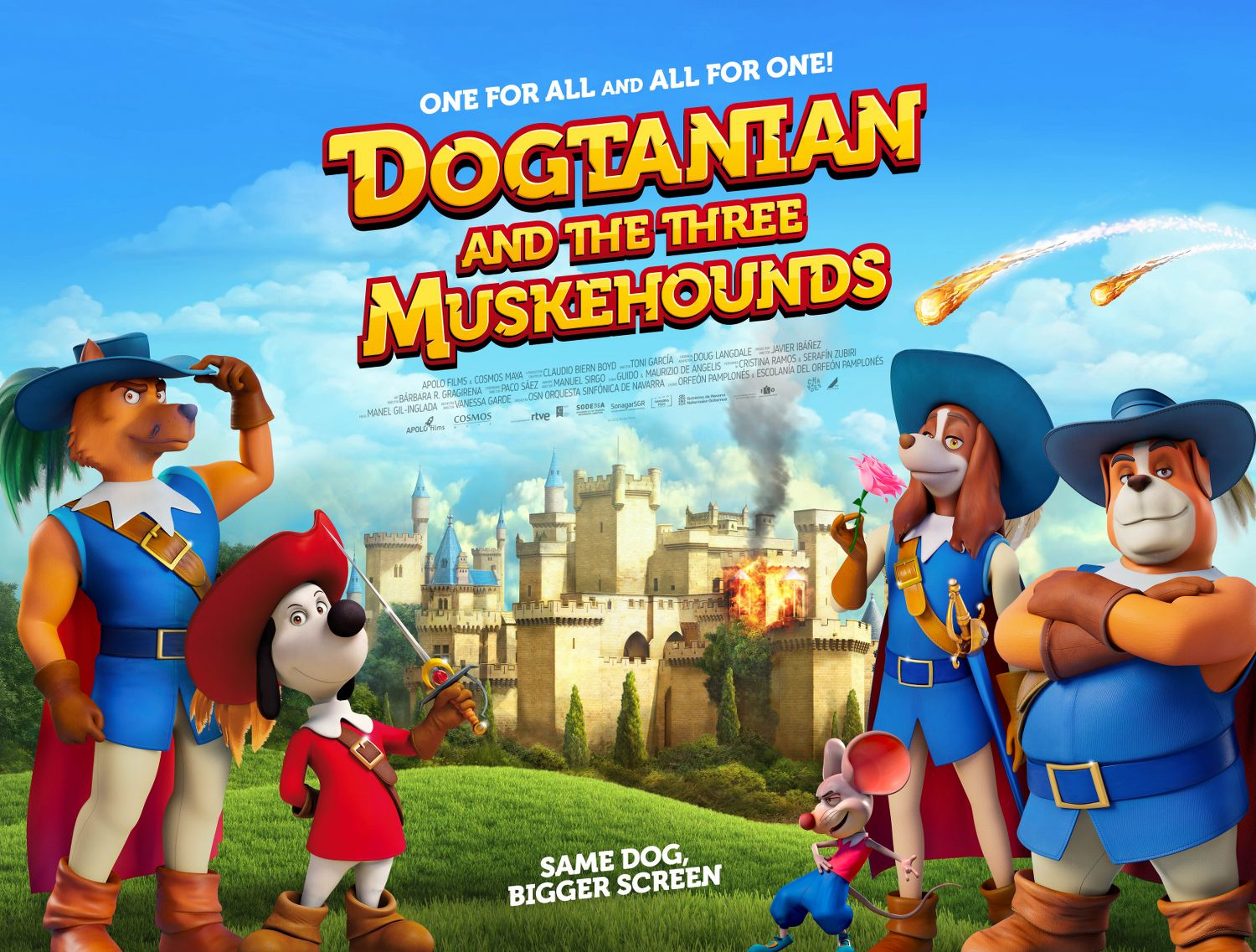 DOGTANIAN AND THE THREE MUSKEHOUNDS Quad