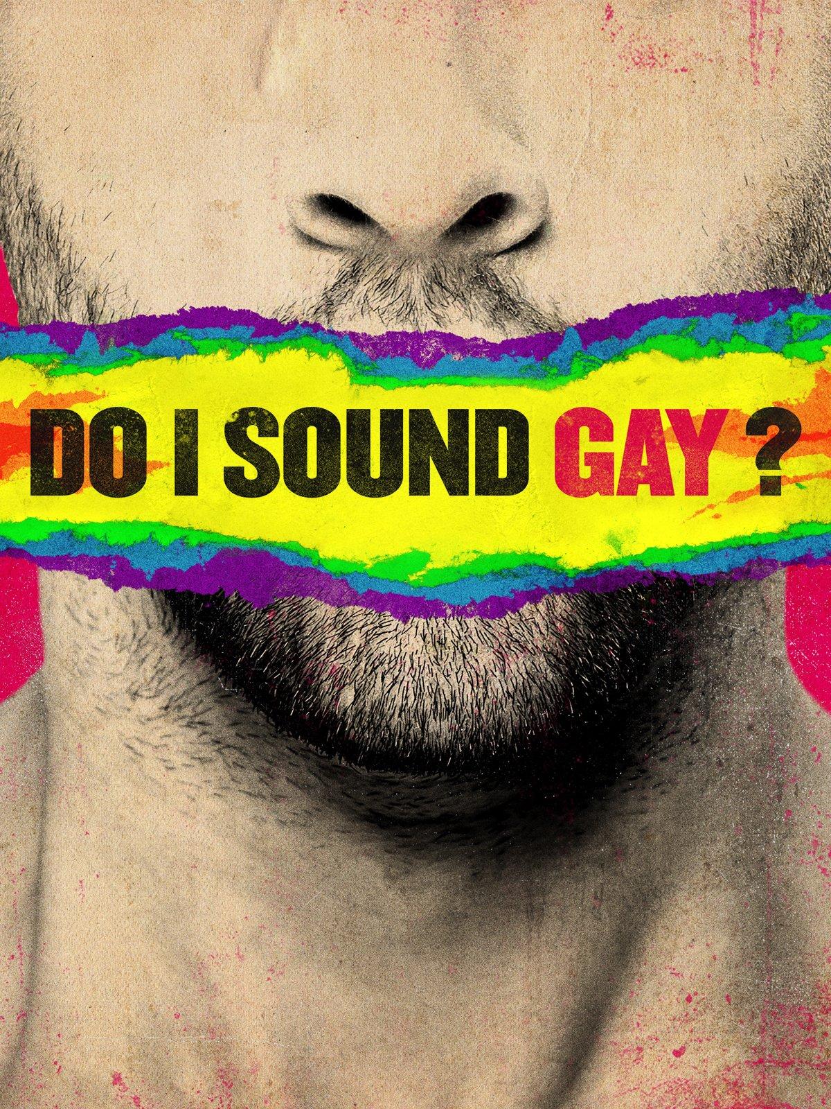 Do I Sound Gay – Digital Artwork Portrait