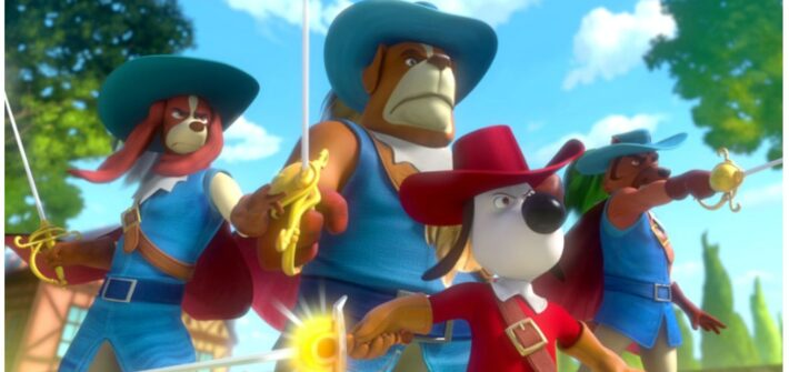 Dogtanian is fighting to the big screen