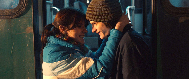 Kara Hayward and Charlie Tahan in DRUNK BUS (Blue Finch Film Releasing)