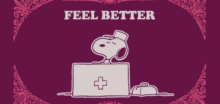 Take Care with Peanuts – Snoopy & Charlie Brown Feel Better