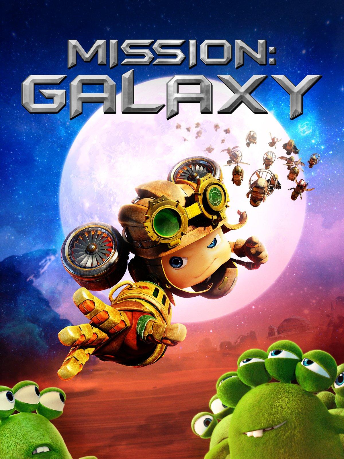 Mission Galaxy (Signature Entertainment) Artwork