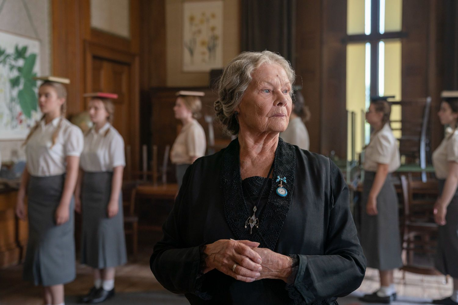 Judi Dench in SIX MINUTES TO MIDNIGHT (Lionsgate UK) (01)