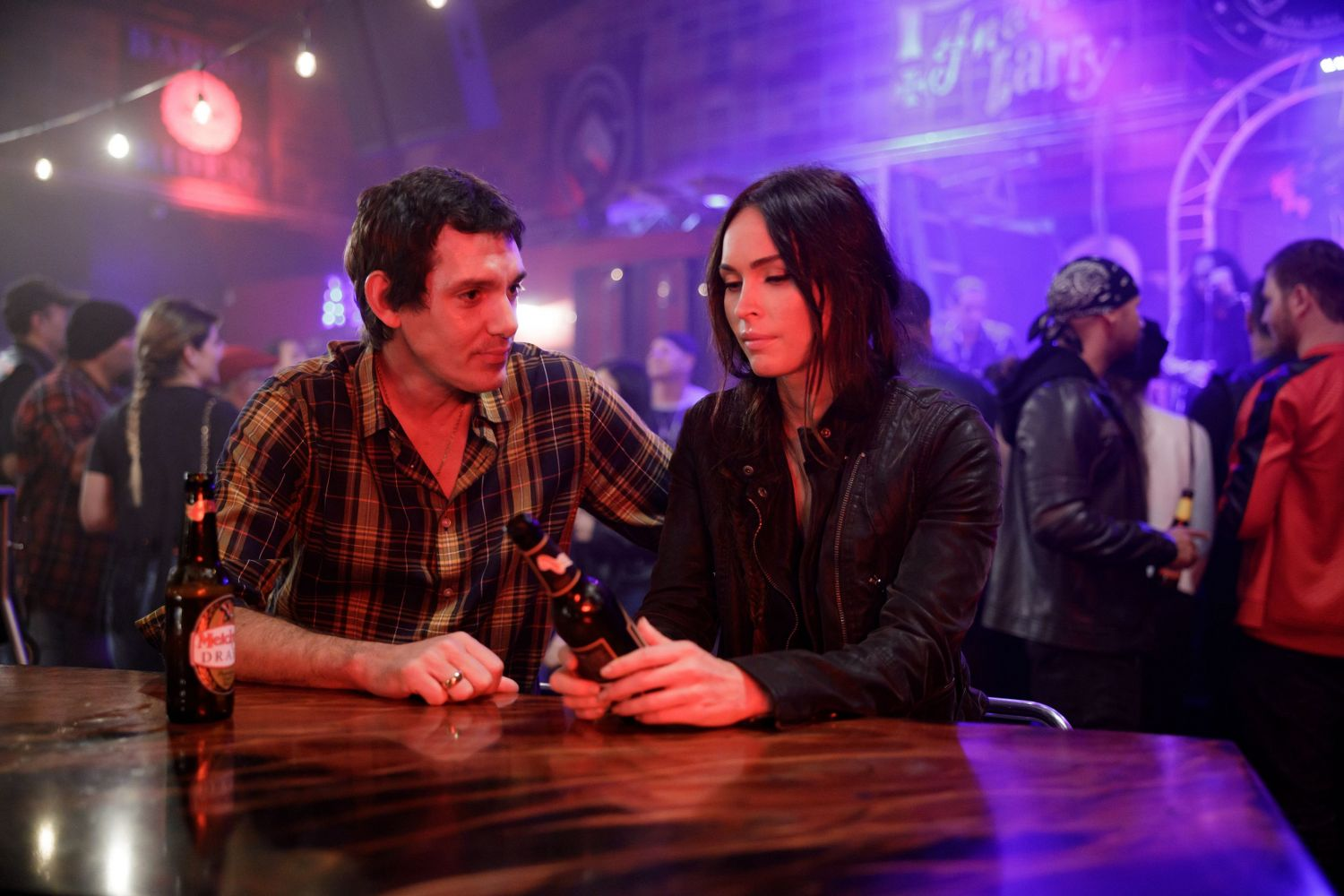 Lukas Haas and Megan Fox in MIDNIGHT IN THE SWITCHGRASS (Lionsgate UK)