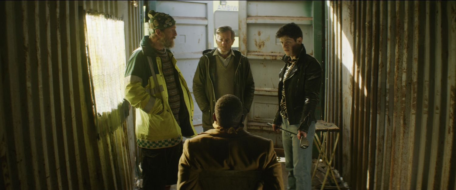 Michael Smiley, Iwan Rheon, Paul Kaye and Gary Beadle in The Toll (Signature Entertainment)
