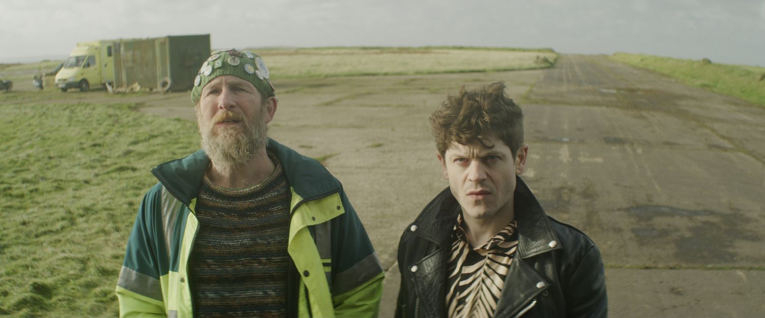 Paul Kaye and Iwan Rheon in The Toll (Signature Entertainment)