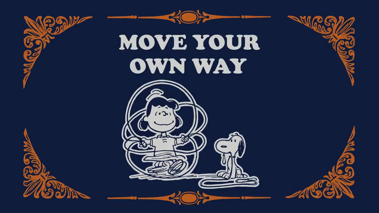 Take Care with Peanuts Move Your Own Way