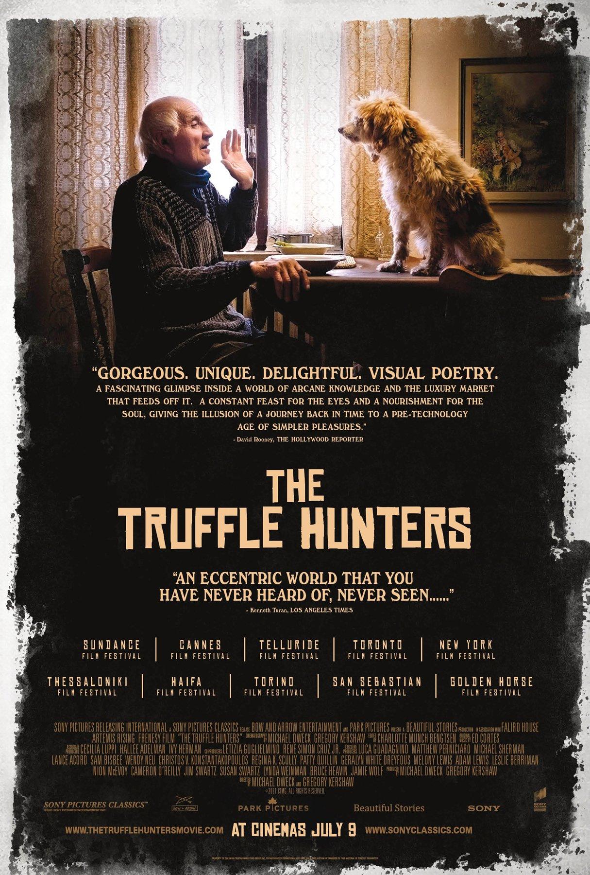 The Truffle Hunters – UK 1 sheetposter