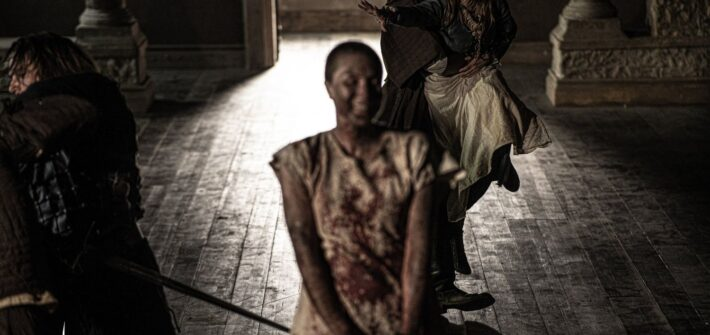 "Skylark Vision wrap medieval fantasy horror ""Witch"""